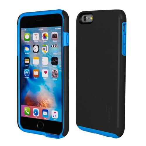 Caseco iPhone 6/6S Plus Flux Hybrid Custom Case - Black/Blue