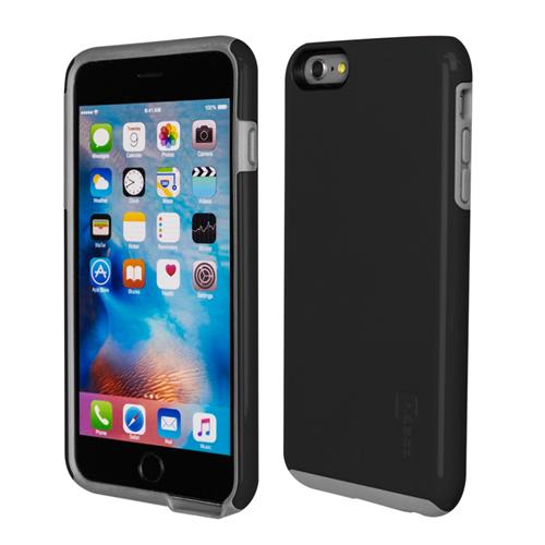Caseco iPhone 6/6S Plus Flux Hybrid Custom Case - Black/Grey