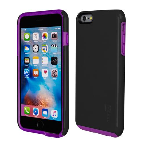Caseco iPhone 6/6S Plus Flux Hybrid Custom Case - Black/Purple
