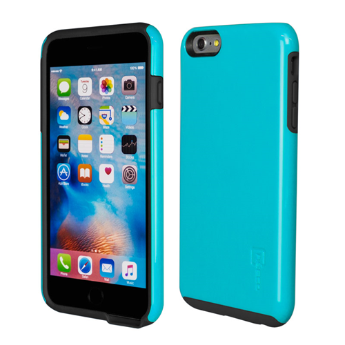 Caseco iPhone 6/6S Plus Flux Hybrid Custom Case - Blue/Black