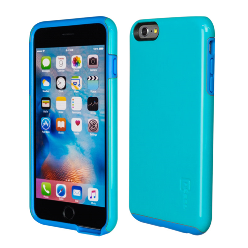 Caseco iPhone 6/6S Plus Flux Hybrid Custom Case - Blue/Blue