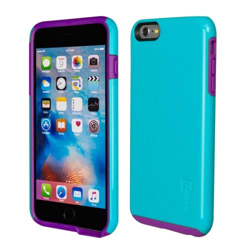 Caseco iPhone 6/6S Plus Flux Hybrid Custom Case - Blue/Purple