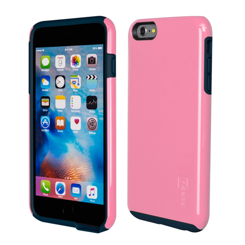 Caseco iPhone 6/6S Plus Flux Hybrid Custom Case - Pink/Navy