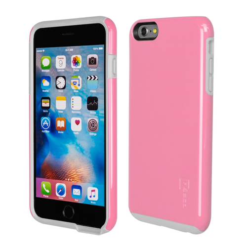 Caseco iPhone 6/6S Plus Flux Hybrid Custom Case - Pink/White