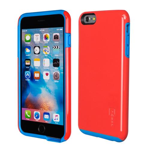 Caseco iPhone 6/6S Plus Flux Hybrid Custom Case - Red/Blue