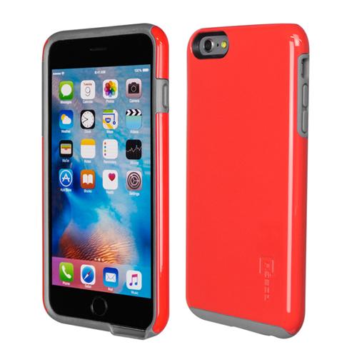 Caseco iPhone 6/6S Plus Flux Hybrid Custom Case - Red/Grey