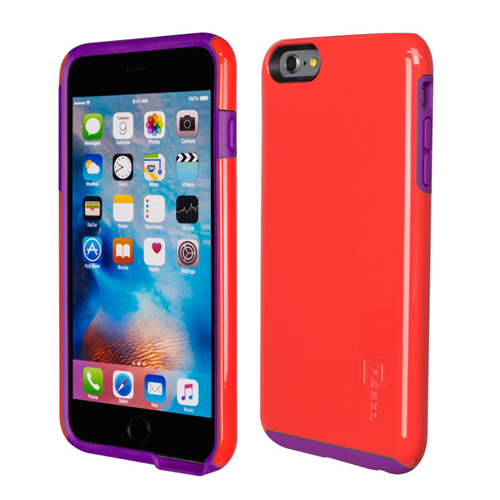 Caseco iPhone 6/6S Plus Flux Hybrid Custom Case - Red/Purple