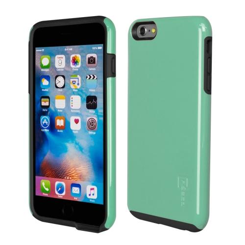 Caseco iPhone 6/6S Plus Flux Hybrid Custom Case - Turquoise/Black
