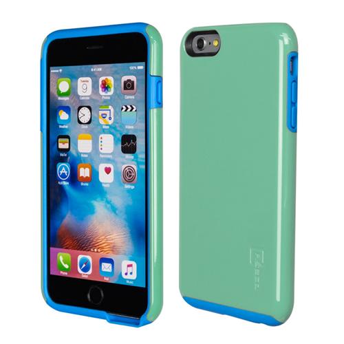 Caseco iPhone 6/6S Plus Flux Hybrid Custom Case - Turquoise/Blue