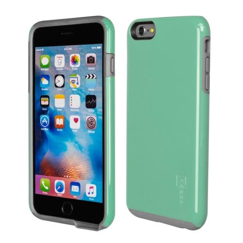 Caseco iPhone 6/6S Plus Flux Hybrid Custom Case - Turquoise/Grey