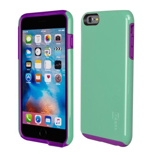 Caseco iPhone 6/6S Plus Flux Hybrid Custom Case - Turquoise/Purple