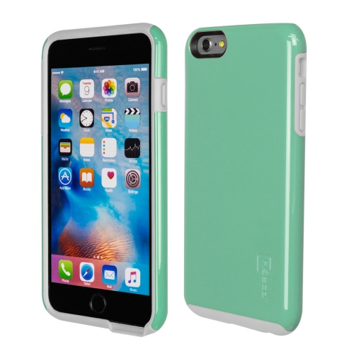 Caseco iPhone 6/6S Plus Flux Hybrid Custom Case - Turquoise/White