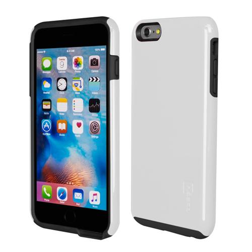 Caseco iPhone 6/6S Plus Flux Hybrid Custom Case - White/Black