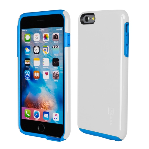 Caseco iPhone 6/6S Plus Flux Hybrid Custom Case - White/Blue