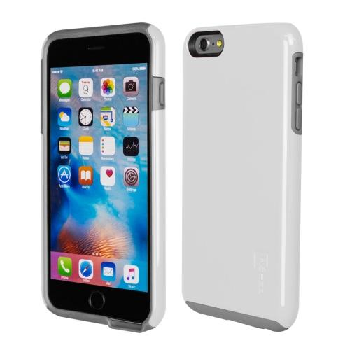 Caseco iPhone 6/6S Plus Flux Hybrid Custom Case - White/Grey