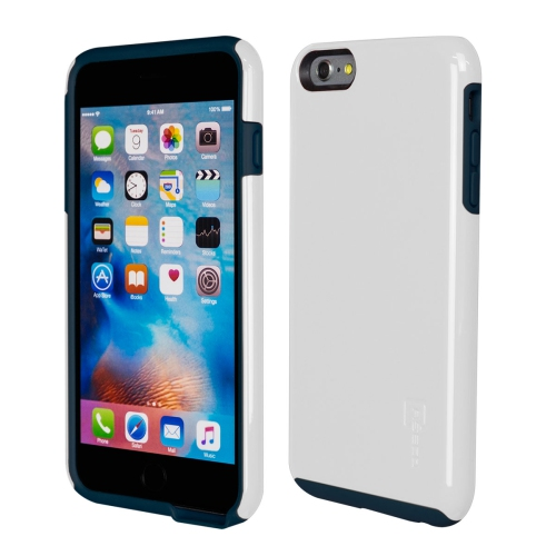 Caseco iPhone 6/6S Plus Flux Hybrid Custom Case - White/Navy