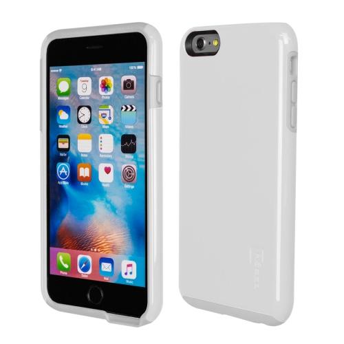 Caseco iPhone 6/6S Plus Flux Hybrid Custom Case - White/White
