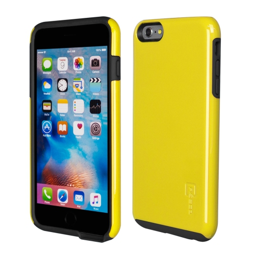Caseco iPhone 6/6S Plus Flux Hybrid Custom Case - Yellow/Black