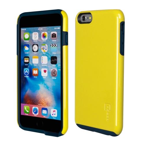 Caseco iPhone 6/6S Plus Flux Hybrid Custom Case - Yellow/Navy