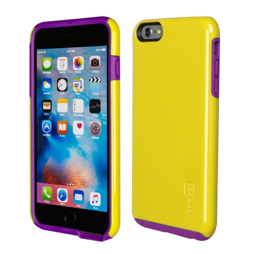 Caseco iPhone 6/6S Plus Flux Hybrid Custom Case - Yellow/Purple
