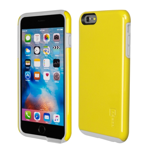 Caseco iPhone 6/6S Plus Flux Hybrid Custom Case - Yellow/White