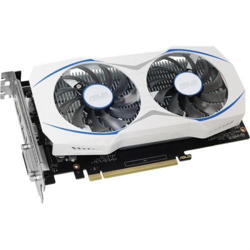 Asus DUAL-GTX1050TI-O4G GeForce GTX 1050 TI Graphic Card - 1.34 GHz Core - 1.46 GHz Boost Clock - 4GB GDDR5 - PCI Express 3.0