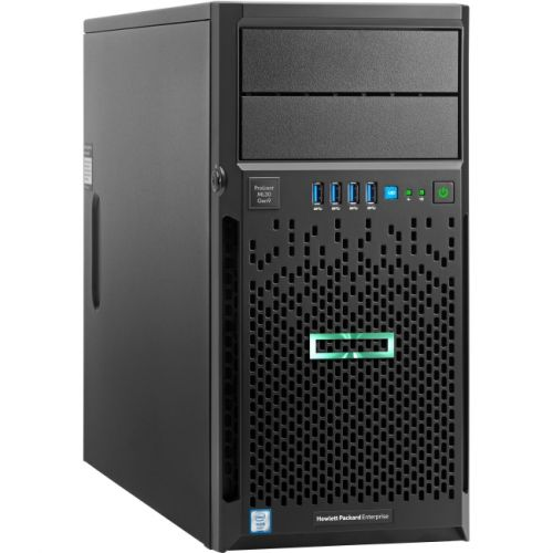 HP ProLiant ML30 G9 4U Micro Tower Server - 1 x Intel Xeon E3-1230 v5 Quad-core (4 Core) 3.40 GHz
