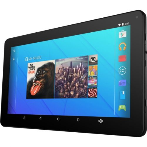 "Ematic EGQ223SKBL 16GB Tablet - 10"" - Wireless LAN Quad-core (4 Core) 1.20 GHz - Black"