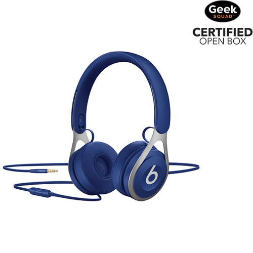 Beats by Dr. Dre EP On-Ear Sound Isolating Headphones with Mic - Blue - Open Box