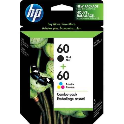 Hp 60 Tri-color Us Ink Cartridge (cc643wn-140)