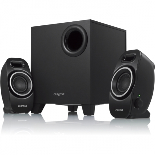 Creative SBS Series A250 2.1 Speaker System - 9 W RMS - Black