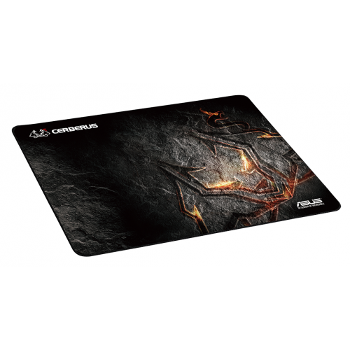 Cerberus Mouse Pad,400 x 300 mm,Premium heavy-weave fabric Surface,Anti-Slip Rub