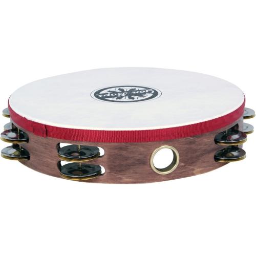 Gon Bops PTAMWH2 2-Row Wood Tambourine