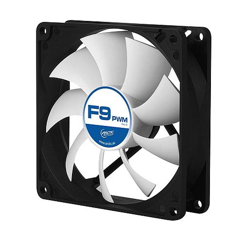 Arctic Cooling F9 PWM Rev2 - 90mm Fluid Dynamic Bearing Case Fan