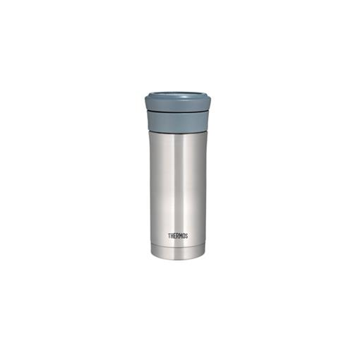 Thermos Tumbler with Strainer 0.5L Clear Stainless
