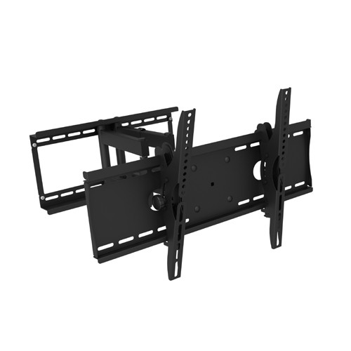 """Prime Mounts Full Motion TV Wall Mount for Flat Screen PLASMA LCD LED Television 32"""" to 95"""" Dual Swivel Arms"""