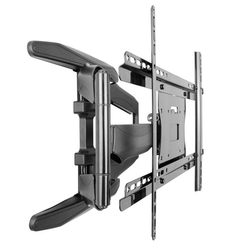 "Prime Mounts Full Motion TV Wall Mount for Flat Screen PLASMA LCD LED Television 32"" to 60"" Dual Swivel Arms"