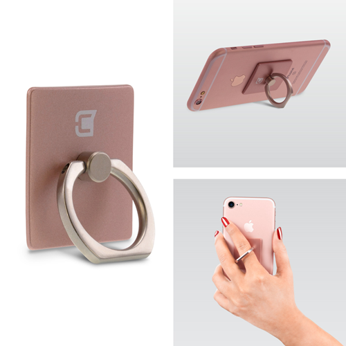 Caseco Ring - Universal Phone Holder and Kickstand - Rose Gold