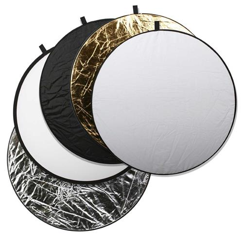 "Godox 110cm 43"" 5-in-1 Collapsible Studio Light Reflector Disc"