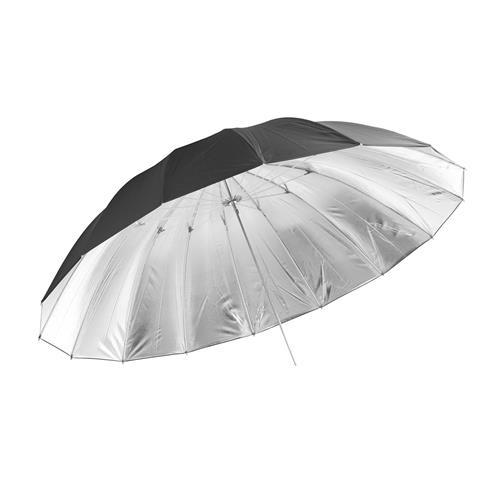 "PixelCam 150cm 60"" Photography Pro Studio Black/Silver Reflector Umbrella"