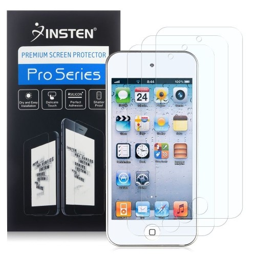 Insten 3-Pack Anti-Glare Screen Protector compatible with Apple iPod touch 5th/6th Generation