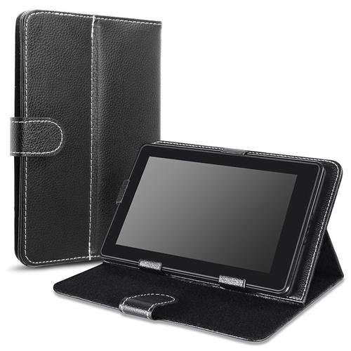 Insten Stand Leather Case for 7-inch tablet, Black