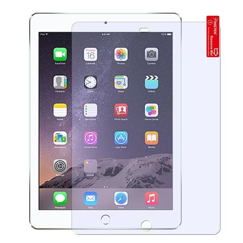 Insten Reusable Anti-Glare Screen Protector compatible with Apple iPad Air 1/2