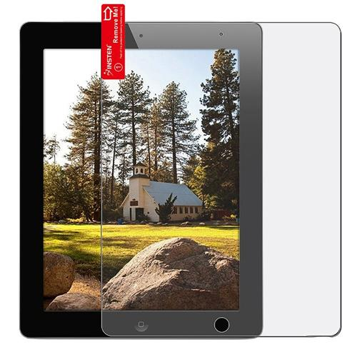 Insten Reusable Anti-Glare Screen Protector compatible with Apple iPad 2 / 3 / 4