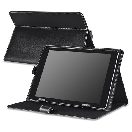 Insten Stand Leather Case for 10-inch tablet, Black