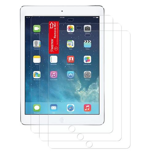Insten 3-Pack Reusable Anti-Glare Screen Protector compatible with Apple iPad Air 1/2