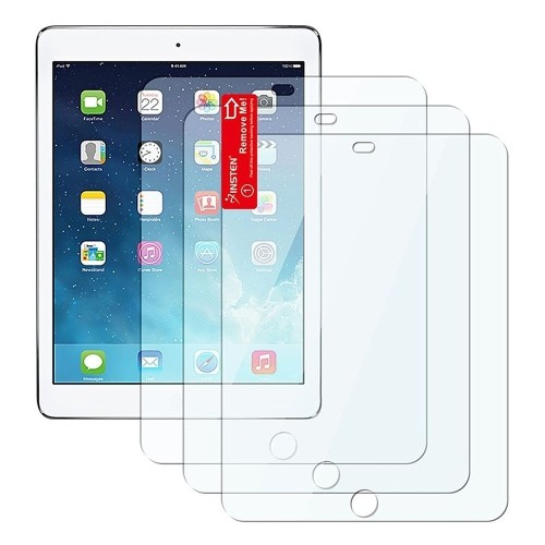 Insten 3-Pack Reusable Screen Protector compatible with Apple iPad Air 1/2