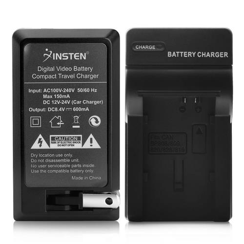 Insten Compact Battery Charger Set compatible with Canon BP-819