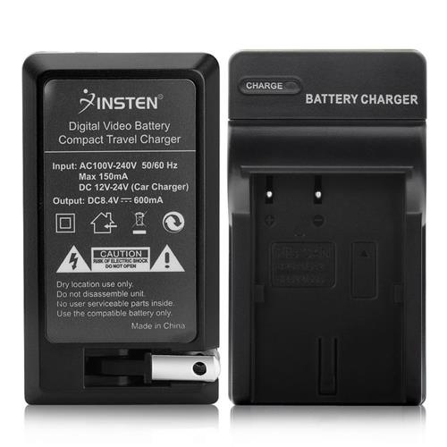 Insten Compact Battery Charger Set compatible with Canon BP-511