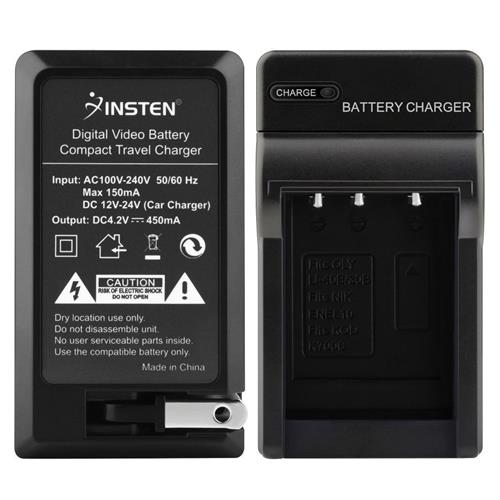 Insten Compact Battery Charger Set